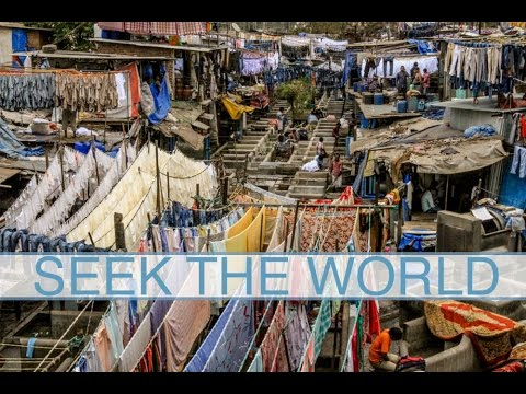 India: World's Largest Outdoor Laundry and Slum - Dhobi Ghan & Dharavi