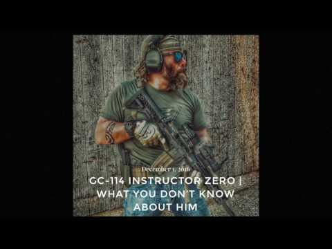 GC-114 Instructor Zero | What You Don't Know About Him