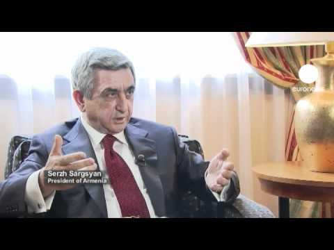 euronews interview - Difficult diplomacy as Armenia and Azerbaijan talk...