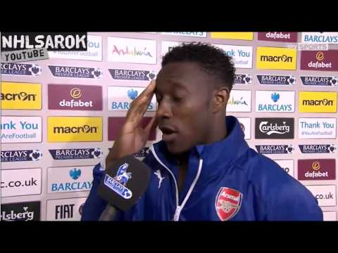 Aston Villa vs Arsenal 0-3 - Danny Welbeck post match interview