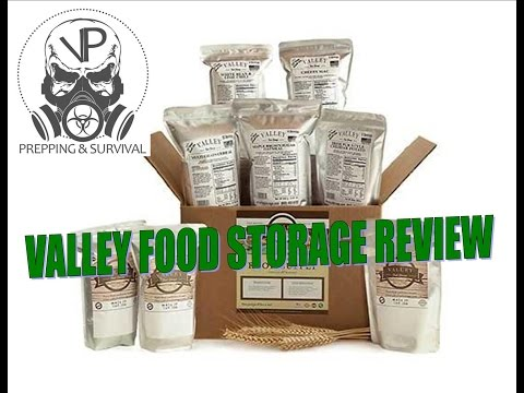SHTF Prepping - Valley Food Storage review