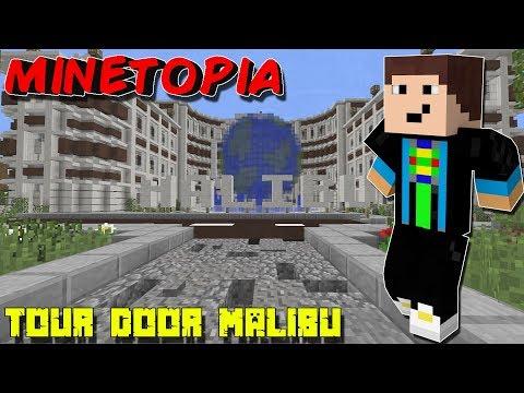 Minetopia - TOER DOOR MALIBU !!