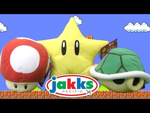 World of Nintendo Super Mario Mushroom, Turtle Shell & Mario Star with Sound from Jakks Pacific