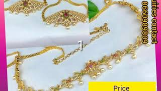 Latest venki,hip belt, hair accessories - spurthi Jewels