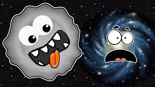 ЛИЗУН ГЛАЗАСТИК съел Землю, Вселенную и Космос. ИГРА Tasty Planet 2 #5 на Игрули TV