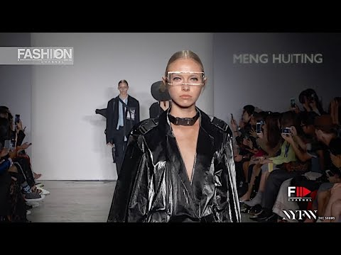 MENG HUITING - ICY SUPERNOVA Spring Summer 2019 New York - Fashion Channel