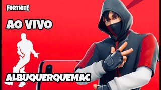 🔴 FORTNITE LIVE-PLAYING WITH IKONIK SKIN, CUSTOM SCRIM LIVE + SHOP FORTNITE 01/06/19