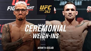 UFC 262: Ceremonial Weigh-in