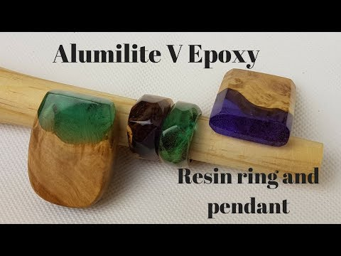 Alumilite v epoxy for jewellery