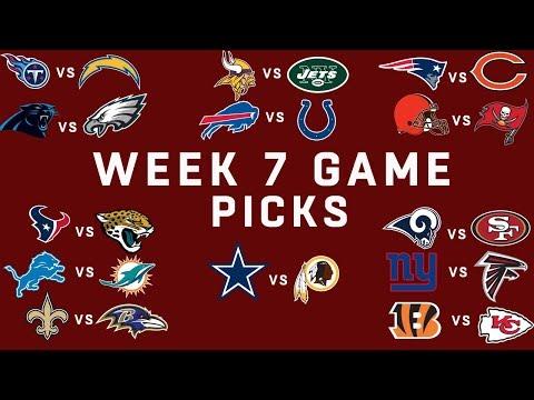 Week 7 NFL Game Picks | NFL