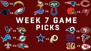Week 7 NFL Game Picks | NFL