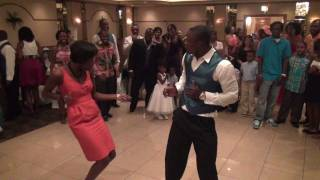 Dance TO SHASHIWOWO at African-American Wedding