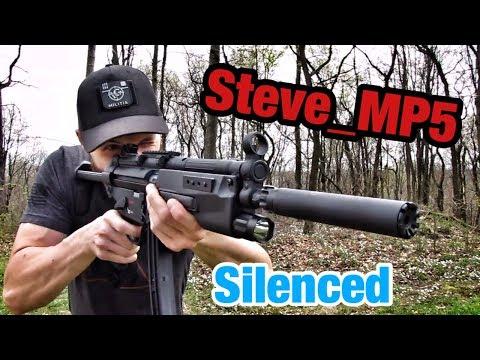 Walther HK MP5 A5 .22lr SBR Silenced