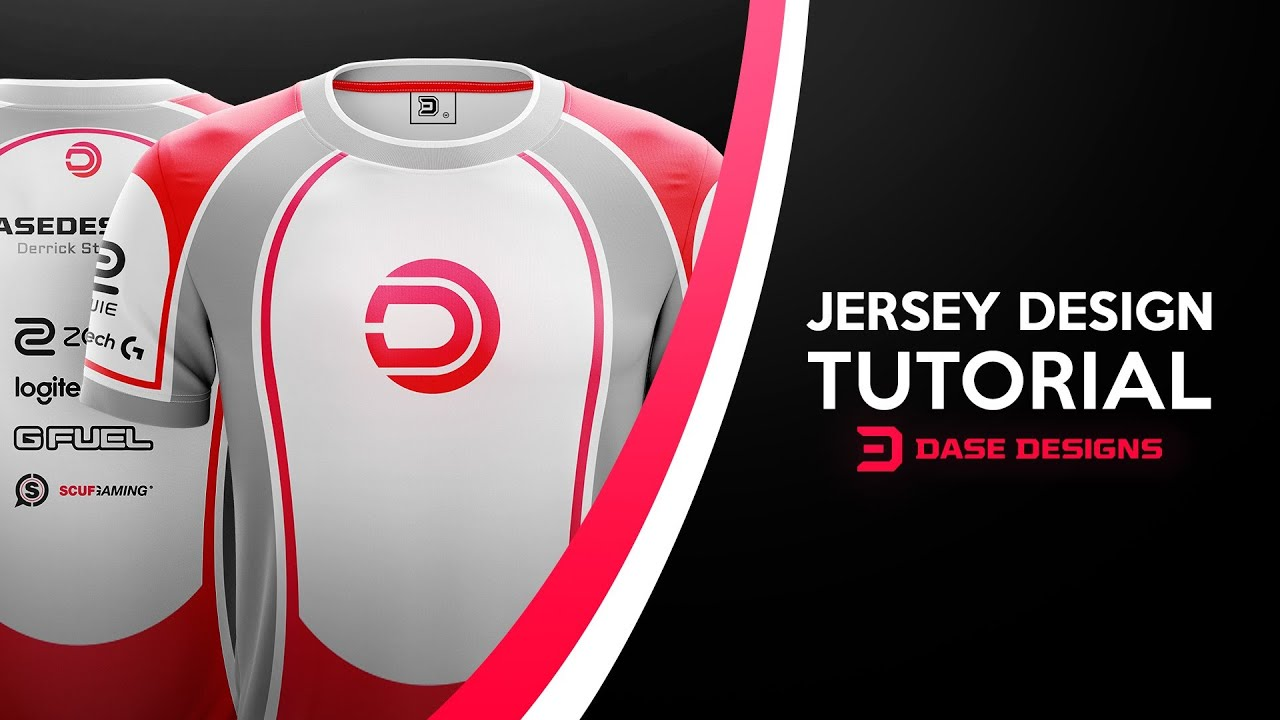 286394d9de4 Esports Jersey Design Tutorial Yellow Images Mockup - YouTube