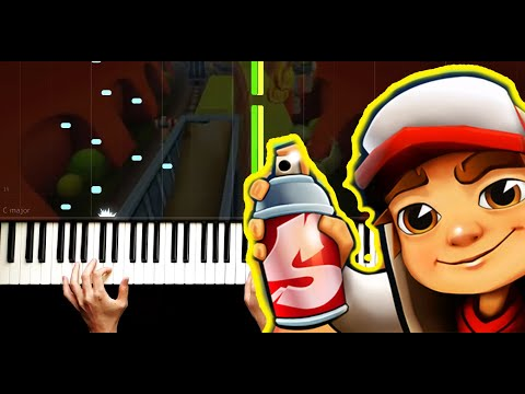 Subway Surfers - Piano by VN
