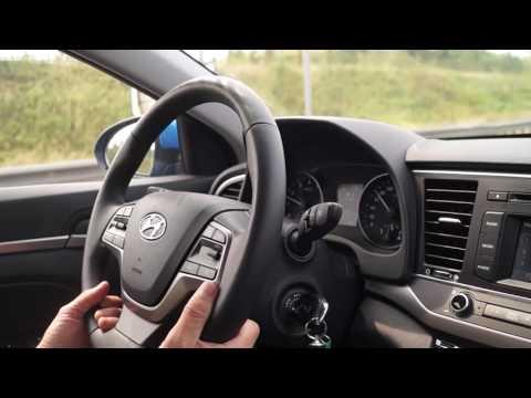 Тест драйв новой Hyundai Elantra
