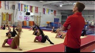 USA Gymnastics training and skills