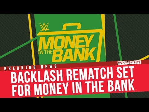 BREAKING NEWS: Backlash Rematch Set For Money In The Bank