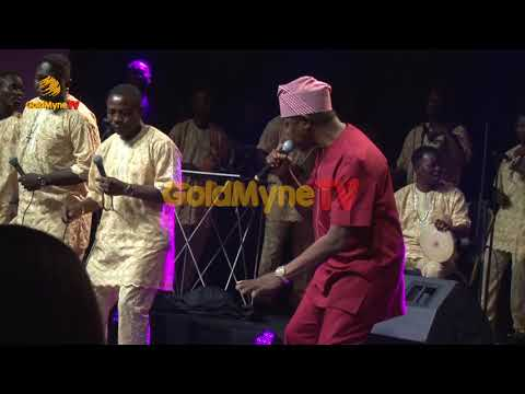KING SUNNY ADE'S LIVE PERFORMANCE AT OMOTOLA JALADE'S 40TH BIRTHDAY PART