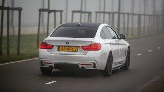 BMW 435i M-Performance w/ Akrapovic Exhaust - LOUD Accelerations !