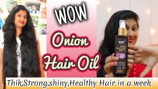 WOW Onion Hair Oil Review | How to Apply Hair Oil Properly | Prakshi Versatile