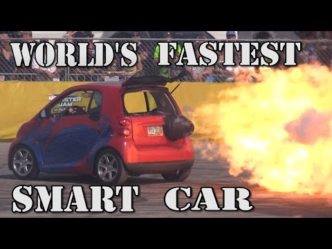 WORLD&39;S FASTEST SMART CAR - 1500 Horsepower