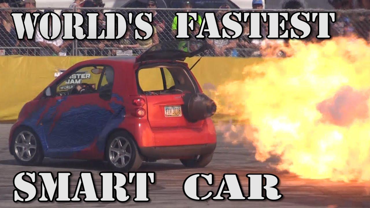 World S Fastest Smart Car 1500 Horse