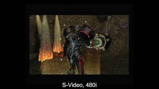 GameCube Video Comparison - Composite, S-Video, Component