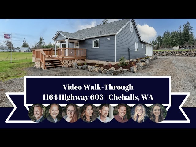1164 HWY 603 | Chehalis | Video Walk-Through