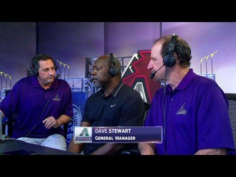NYM@ARI: GM Stewart discusses team, draft