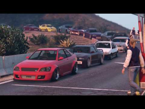 JDM CAR MEET IN GTA 5 Online