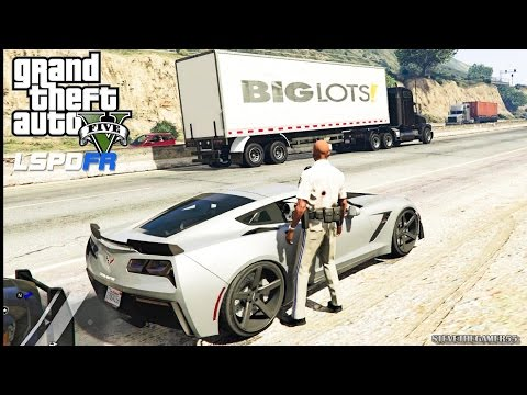 GTA 5 MOD - EPiSODE 66 - LET'S BE COPS - HIGHWAY PATROL (GTA