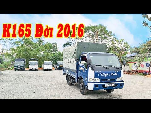 BÁO GIÁ NHANH xe tải KIA K165 đời 2016 mới về salon| ĐAT XE TẢI