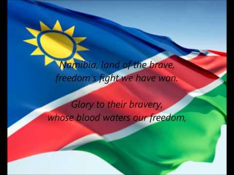 "Namibian National Anthem - ""Namibia, Land Of The Brave"" (EN)"