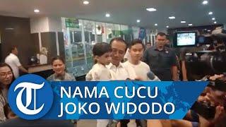 Gibran Umumkan Nama Cucu Joko Widodo