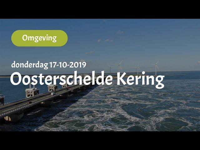 Oosterschelde Kering (17-10-2019)