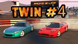 TOP Best Twin Drift #4 Tandem Honda S2000 VS Honda NSX   Парный дрифт   CarX Drift Racing MOBILE