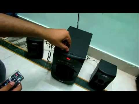 PHILIPS MMS4040F MUSIC SYSTEM AND REVIEW