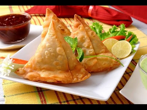Traditional Punjabi Samosas - by ChefHarpal