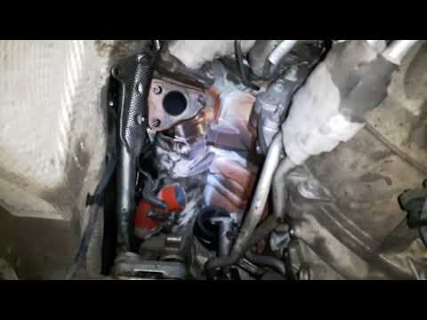 Reng Rower spotr снятие левой турбины не снимая двигатель.