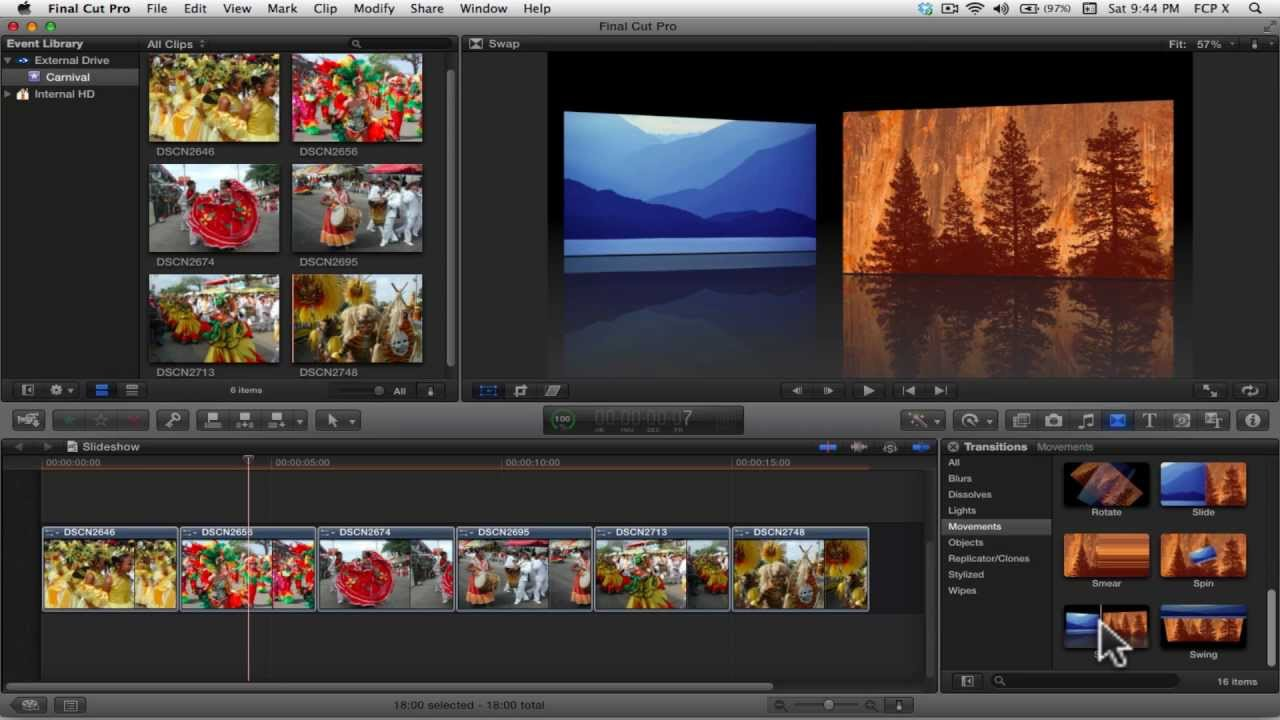 How to Create A Video Slideshow in Final Cut Pro X - The Beat: A