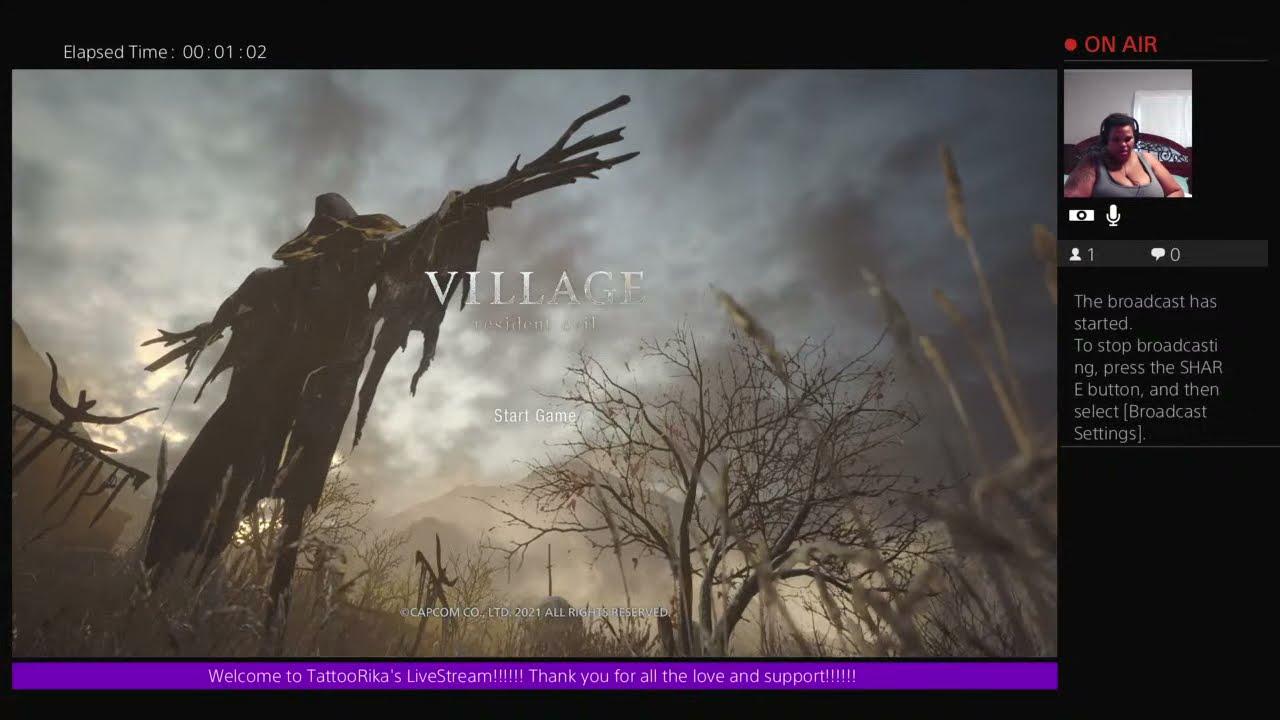 Download RESIDENT EVIL VILLAGE GAMEPLAY!!!!!!! LETS GO!!!!!!!!