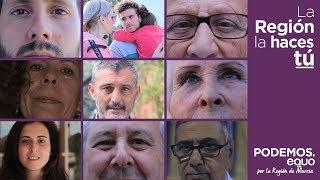 SPOT ELECTORAL  (VERSIÓN CORTA PARA TV)  PODEMOS-EQUO REGIÓN DE MURCIA