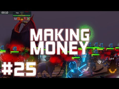 RuneScape 3: The Most Money I've Ever Had! - Making Money #25