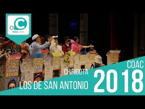Chirigota, Los de San Antonio - Preliminares