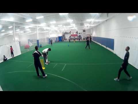 Black Caps - Indoor Cricket Match pt.1