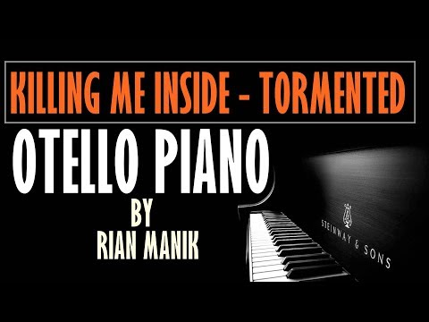 Killing Me Inside - Tormented Piano Tutorial Cover By Otello Piano