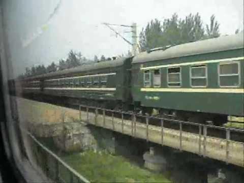 Riding the Trans Mongolia Express