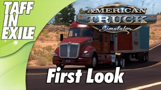 American Truck Simulator - First Look