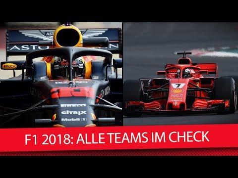 Formel 1 2018: Alle Teams im Form-Check (Saisonvorschau II)